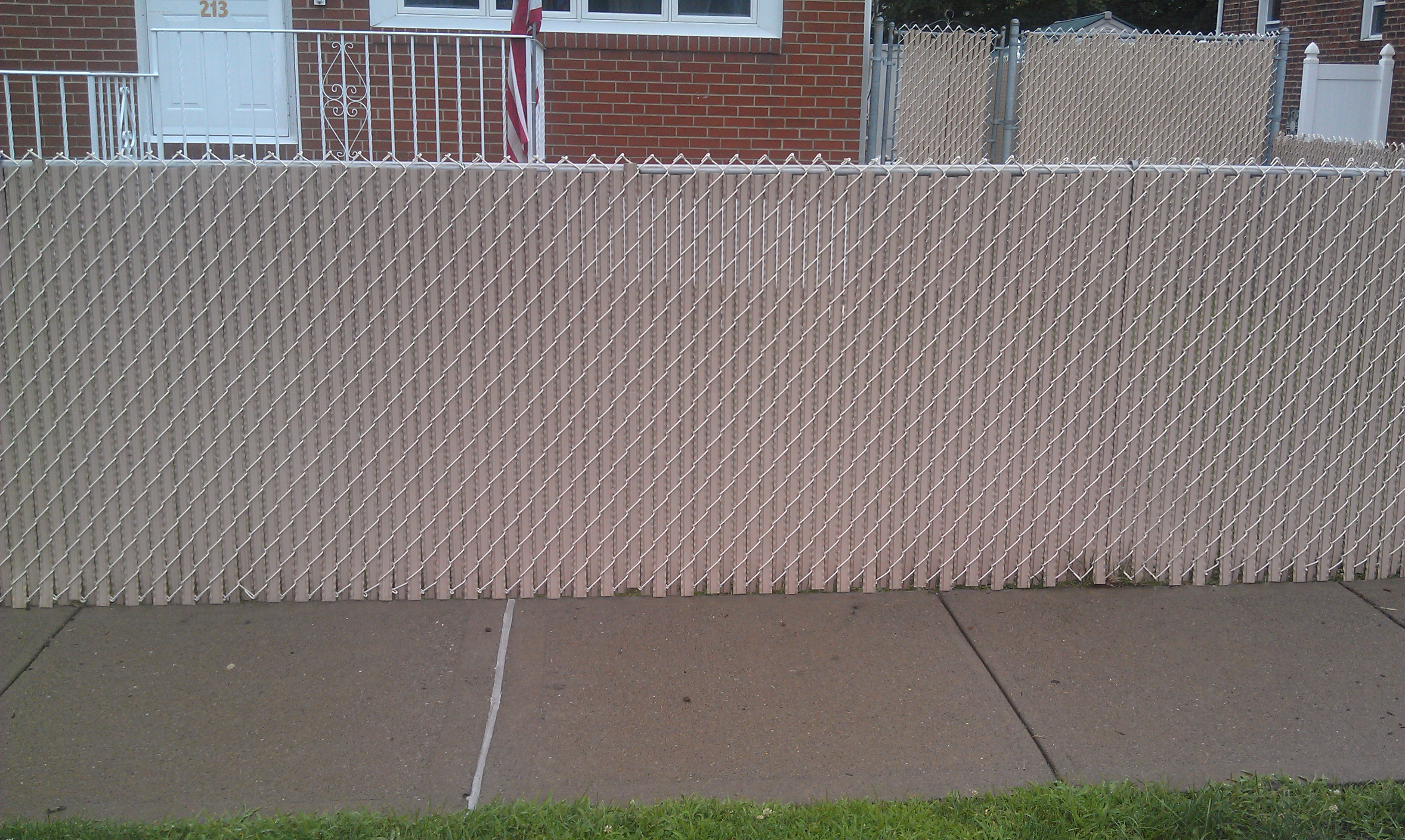 Chain Link Fence Top Rail Tubing Home Depot Design Fence